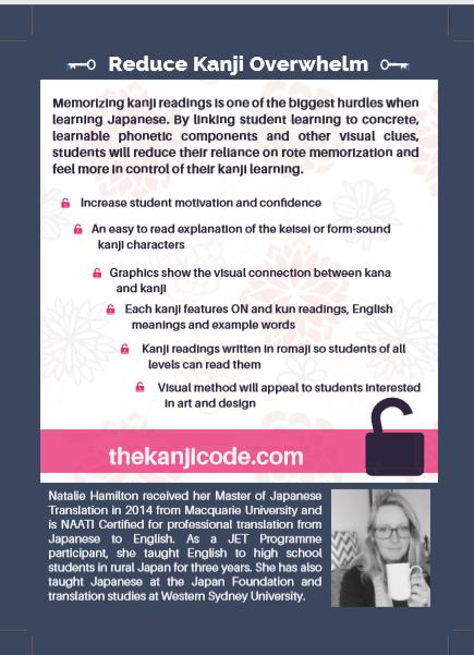 Kanji phonetic components: The Kanji Code FLyer 2