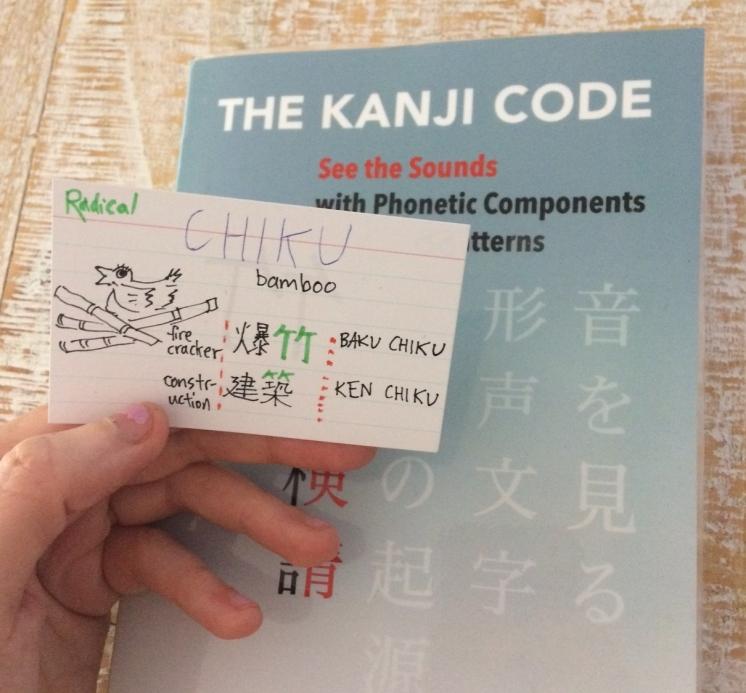 Kanji Code card